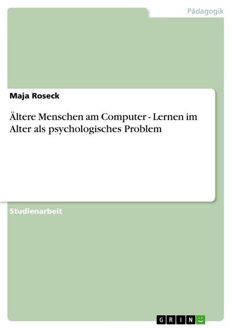 psychologisches alter