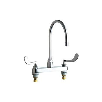 commercial grade kitchen faucets chicago faucets 1100 gn8ae3 317ab commercial grade high