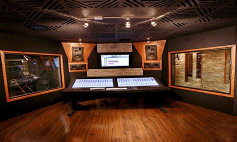 Acoustical ceiling tiles, recording studio doors recording