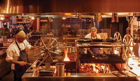 numbers  show stopping wood fire grill  terra