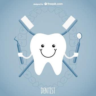 dientes animados y vectores gratis