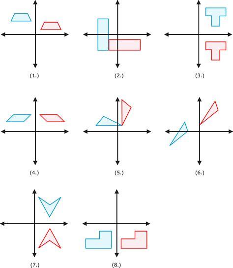 worksheet reflection translation rotation worksheet