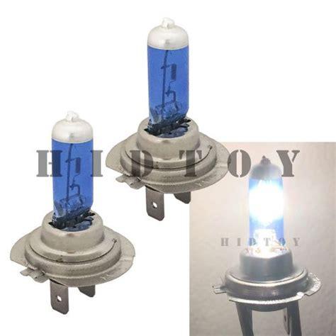 find h7 white 100w xenon halogen 5000k headlight 2x