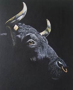 Stier Bilder Auf Leinwand : bild stier malerei konkret von eva zeller albert bei kunstnet ~ Whattoseeinmadrid.com Haus und Dekorationen