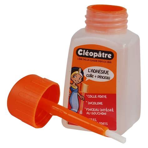 pot de colle cleopatre colle transparente cl 233 op 226 tre 80g flacon avec pinceau colle liquide avec pinceau flacon pour
