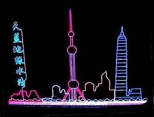 Flexible Neon Light EL KPT Wire Tubing and Drivers