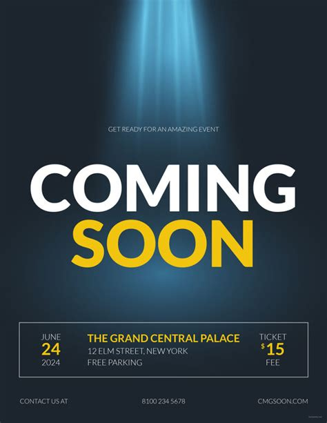 coming soon template 12 coming soon flyer templates free psd ai eps format free premium templates