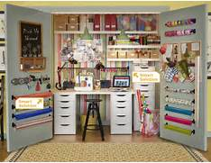 Ikea Craft Rooms  10 Organizing Ideas From REAL Ikea Craft Rooms