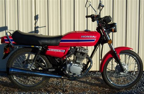 Honda Cb 125 by Honda Cb 125 Cl Pics Specs And List Of Seriess By Year