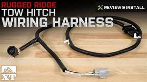Jeep Wrangler Rugged Ridge Tow Hitch Wiring Harness  2007-2017 Jk  Review  U0026 Install