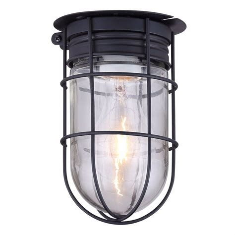 outdoor caged light barn ceiling exterior wall all weather
