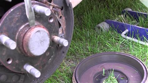 Wheel Bearing Dust Cap Removal How To Car Truck