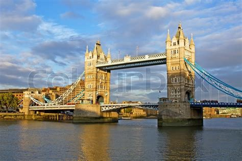 Famous Tower Bridge In London, Uk  Stock Photo  Colourbox