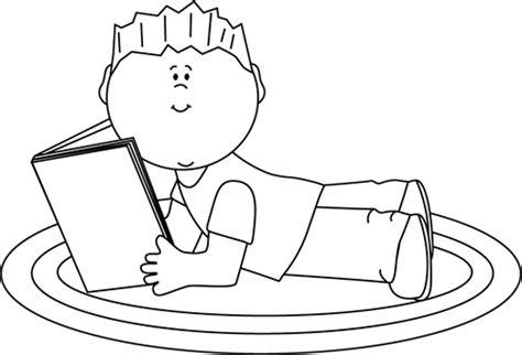 11892 student reading clipart black and white black and white boy reading clip black and white boy