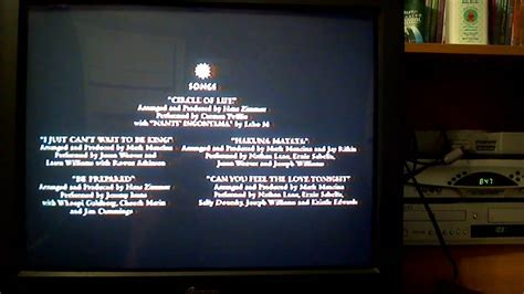 lion king  credits   part  youtube