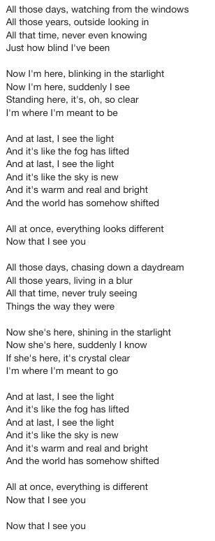 lyrics  tangled    light wedding
