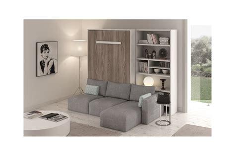 armoire lit canape lit escamotable avec canapé intégré my