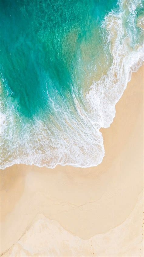 Ios 13 Wallpaper Computer by Swirling Waves On The Shore Kataskeues In 2019