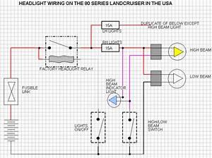 79 Series Landcruiser Headlight Wiring Diagram Full Hd