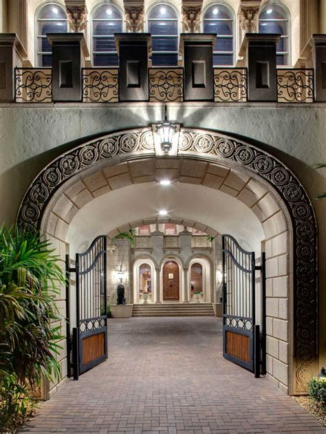 square foot naples mansion  magnificent gated