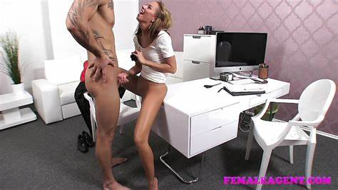 Femaleagent Athletic Teens Stud Can Go The Distanc