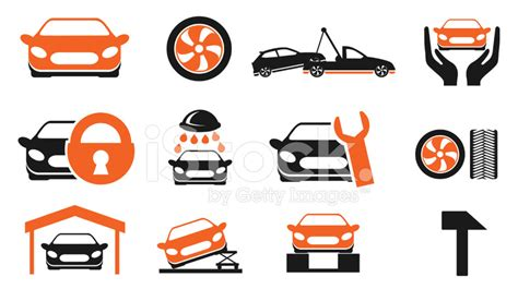 Car In Service by Car Services Icon Set Stock Photos Freeimages
