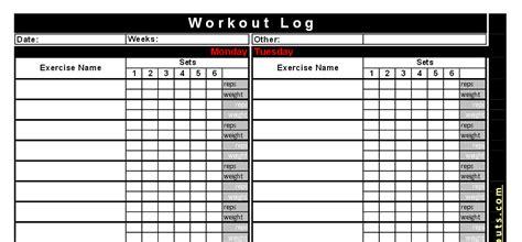 weight lifting workout plan  kayaworkoutco