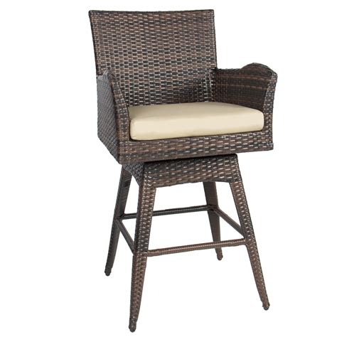 better homes and gardens 29 quot padded saddle stool cherry