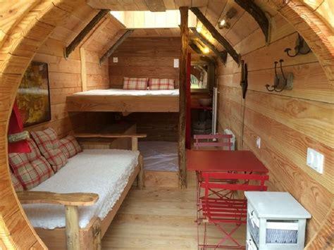 chambre insolite rental vegetated huts touraine domaine de la