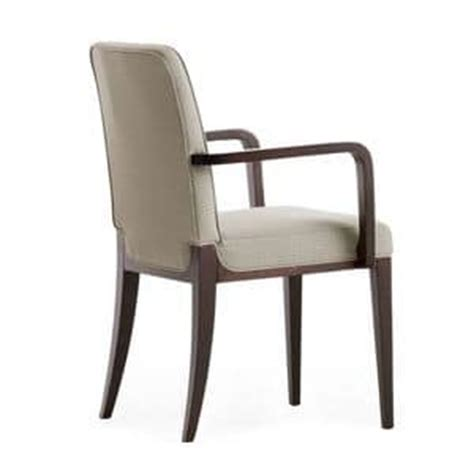 chaise avec accoudoir pour personne agée furniture chairs contemporary wood padded seat padded back with armrests idfdesign