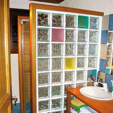 installer des briques de verre pour une
