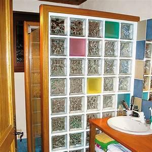 Cloison Brique De Verre : installer des briques de verre pour une douche ~ Dailycaller-alerts.com Idées de Décoration