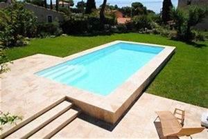 Piscines Semi Enterrées : devis piscine semi enterr e gratuit guide et conseils ~ Dallasstarsshop.com Idées de Décoration