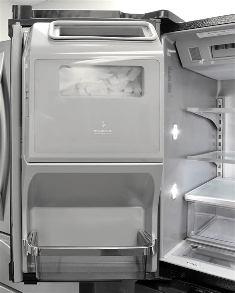 Kitchenaid Undercounter Refrigerator With Maker by Kitchenaid Krmf706ebs Refrigerator Review Reviewed