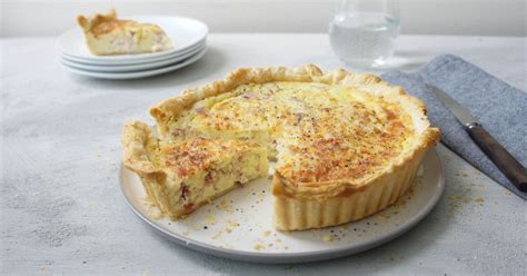 sour cream quiche recipe australias  recipes