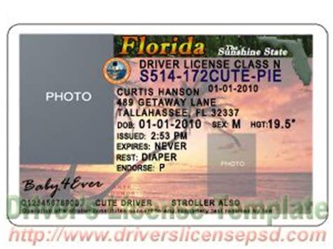 florida driver license psd template images florida