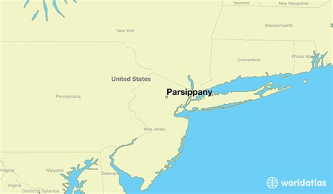 Where is Parsippany, NJ? / Parsippany, New Jersey Map ...