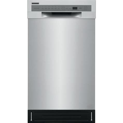 frigidaire   front control dishwasher  stainless