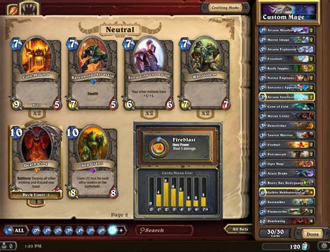 Hearthstone Deck Builder Mage by Secret Mage Deck Hearthstone Reddit