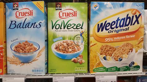 Ontbijtgranen zonder suiker en vet