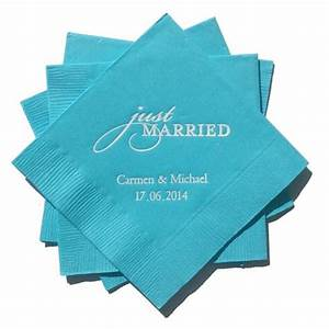 Servietten Bedrucken Hochzeit : bedruckte servietten personalisiert zur hochzeit just hochzeit pinterest ~ Watch28wear.com Haus und Dekorationen