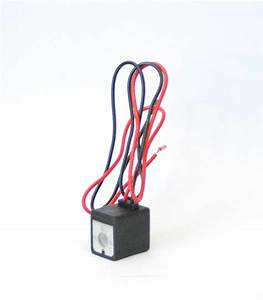 1pc 12v Dc Wire Lead Coil For Pneumatic Solenoid Valve