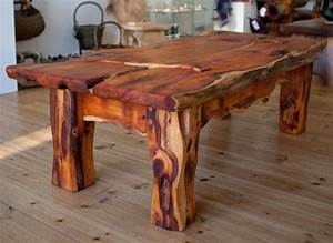 'Badgerland Table' by Phil Crennell Yew Live Edge