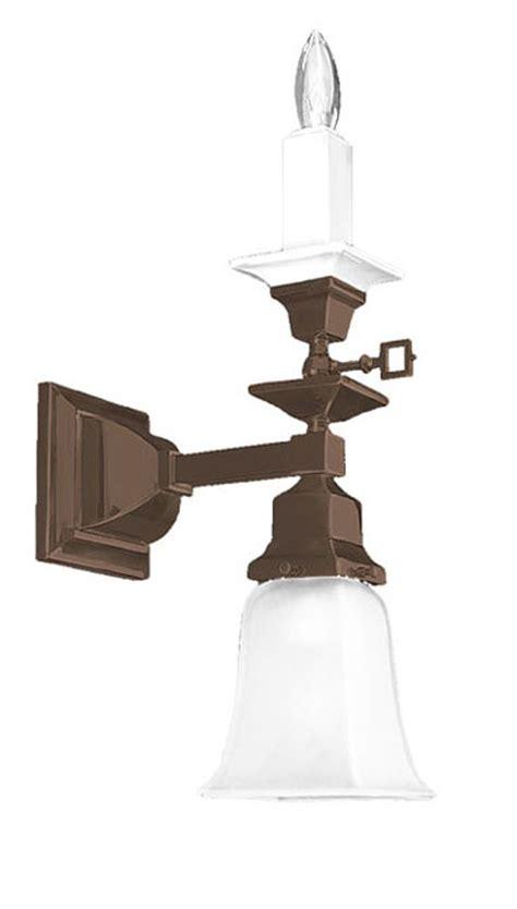 vintage hardware lighting mission style single arm
