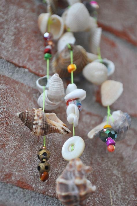 diy ideen fuer basteln mit muscheln aus dem sommerurlaub