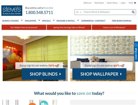 Steve's Blinds And Wallpaper Coupons & Steves Blinds And