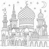 Mosque Drawing Coloring Outline Template Getdrawings Turkish Drawings Sketch sketch template