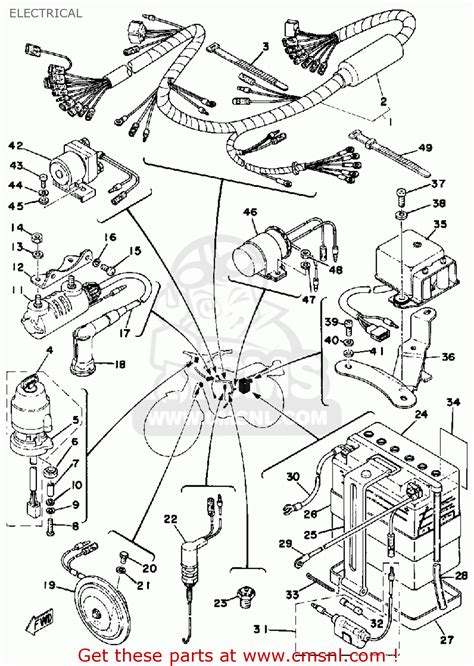 wiring diagram for yamaha dt125r wiring diagram and