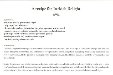 turkish delight recipe turkish delight recipe from narnia