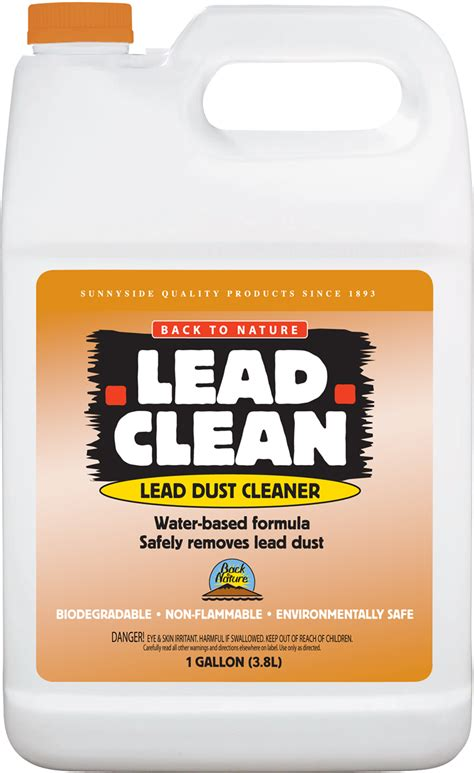 back to nature lead clean gallon